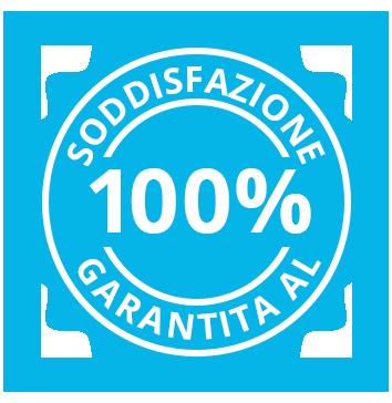 Soddisfazione Garantita al 100%